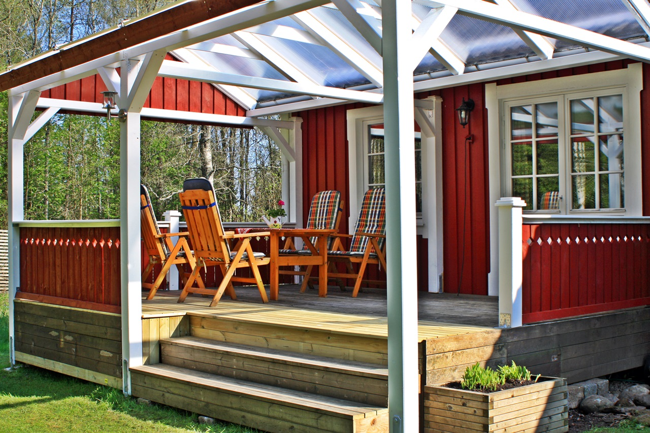 Schwedenhaus mit veranda  Ferienhaus Schweden privat am See mit Boot mieten, deutsche ...